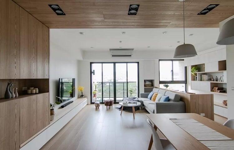 Xu hướng thiết kế phòng khách và phòng ăn thông nhau cho căn hộ nhỏ