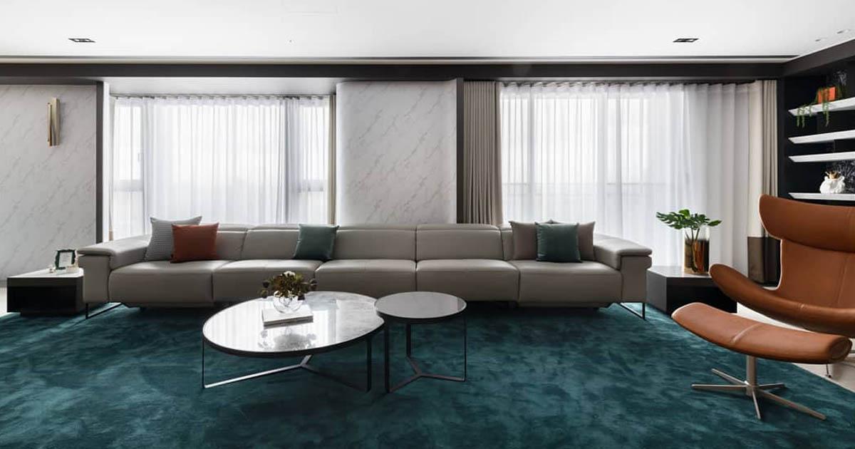 Gợi ý cách đặt sofa phù hợp cho từng không gian phòng khách