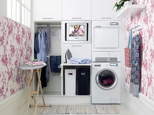 Những điều bạn cần lưu ý khi thiết kế phòng giặt căn hộ chung cư