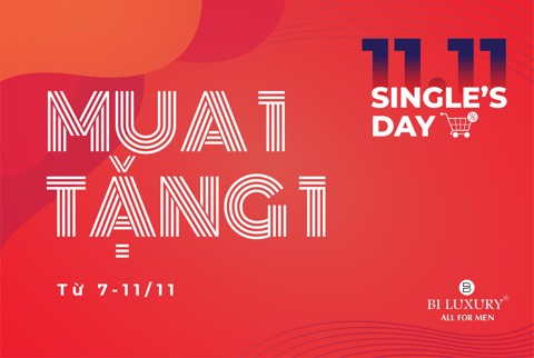 SIÊU SALE SINGLE'S DAY 11/11 - MUA 1 TẶNG 1