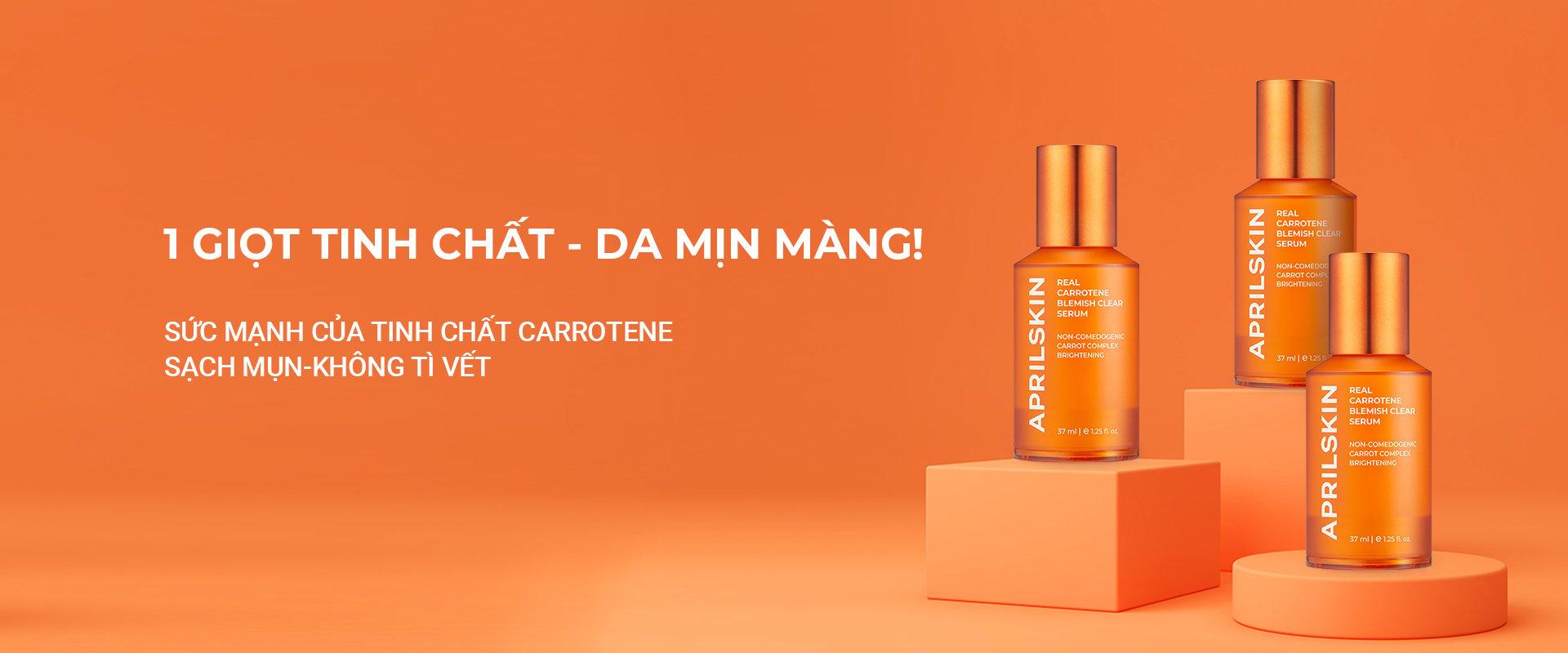 Tinh chất Real Carrotene Blemish Clear Serum