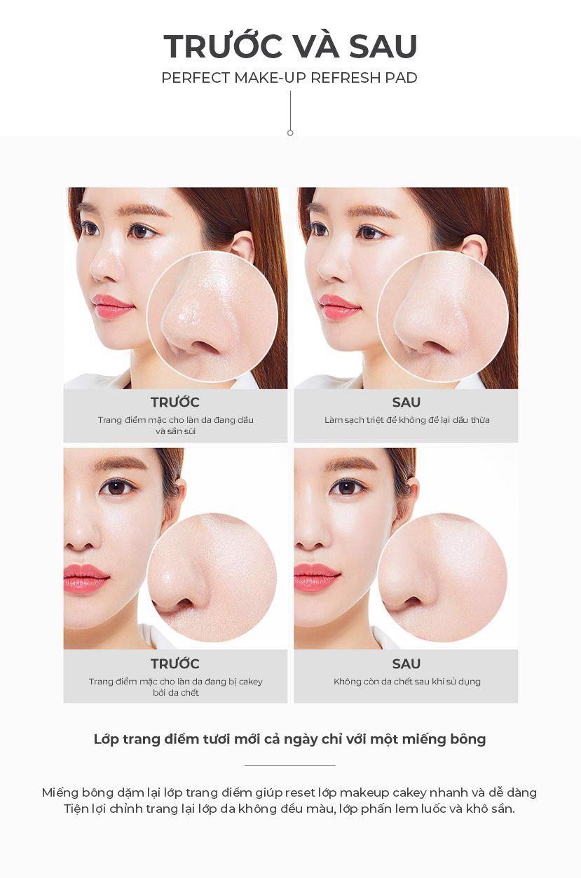 APRILSKIN - Perfect Makeup Refresh Pad