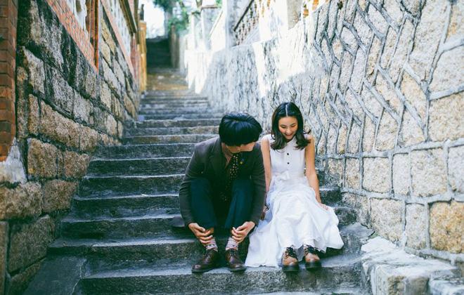 Ảnh cưới cuhp theo phogn cách ảnh film