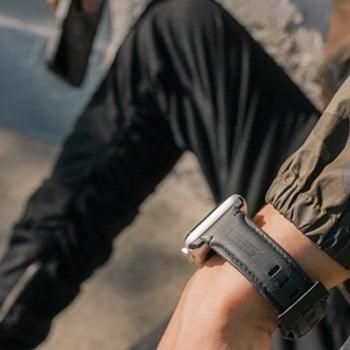 Dây da thay thế UAG Leather cho Apple Watch