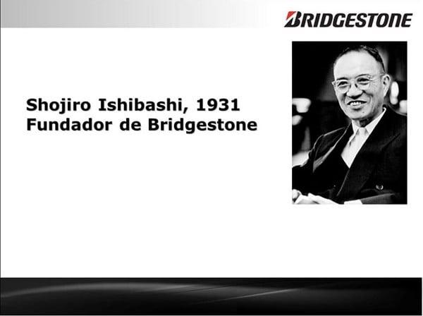 chiếc lốp Bridgestone đầu tiên