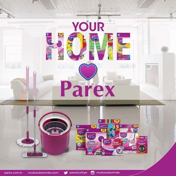 Bộ lau nhà 360 độ cao cấp Parex Maestro