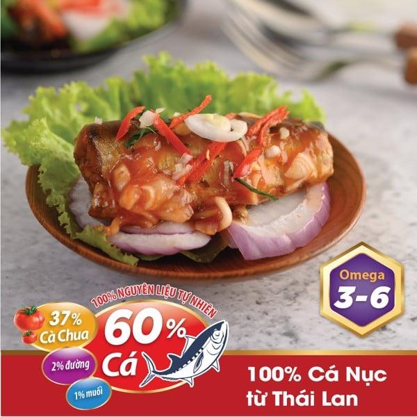 Cá hộp sốt cà Bigcan Thái Lan