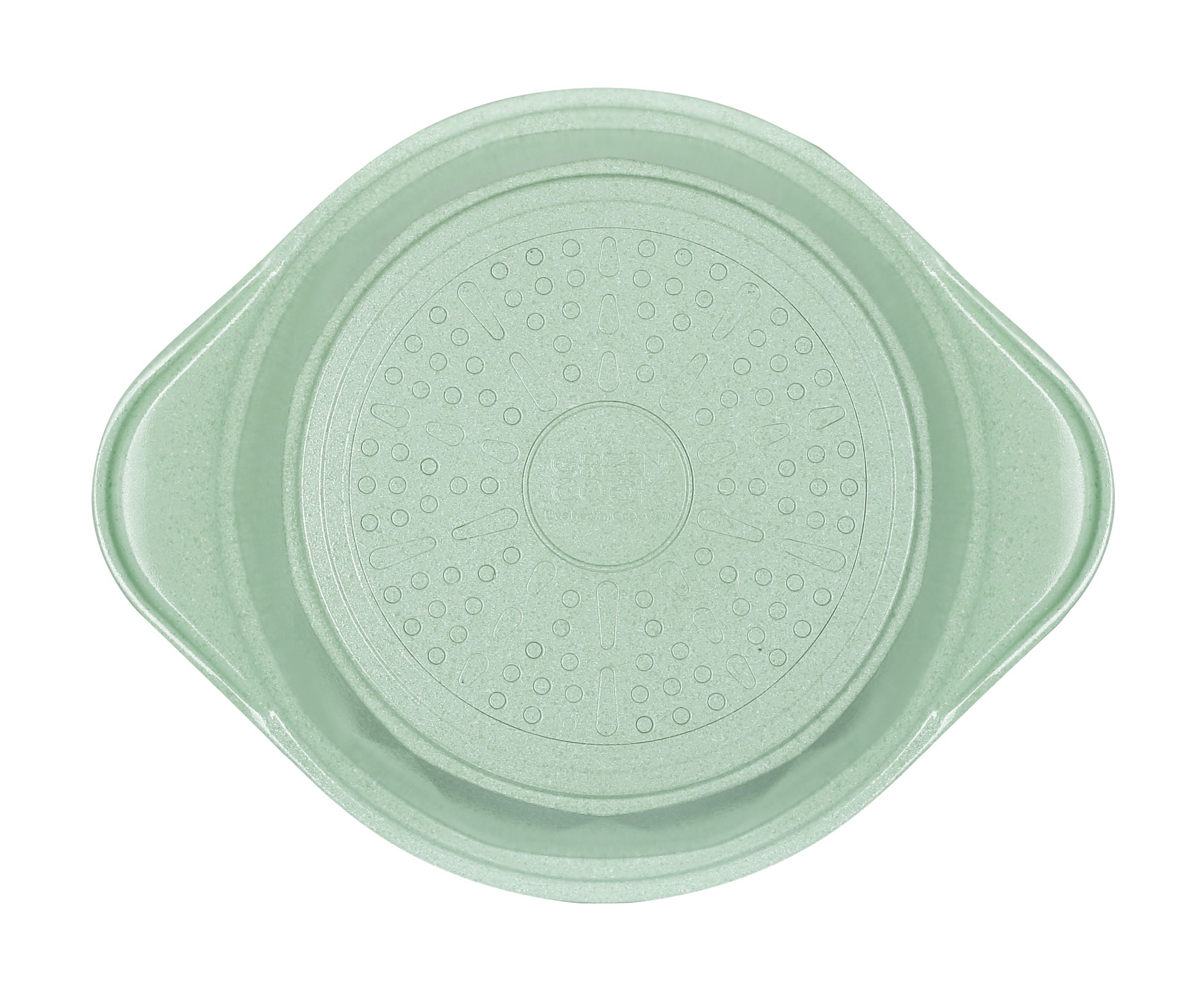 Nồi đúc đáy từ men đá xanh ngọc Green Cook GCS05 size 18-20-24 cm