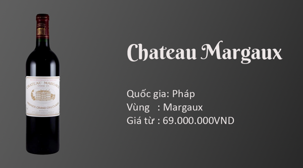 Grand Vin Du Chateau Margaux