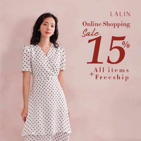 LALIN SALE OFF 15% ALL ITEMS
