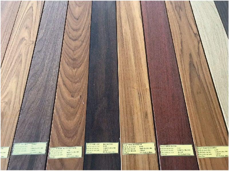 Ván sàn gỗ tự nhiên