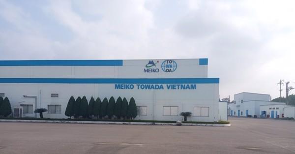 Chúng tôi là Vendor chính thức cung cấp sản phẩm và dịch vụ bảo trì bảo dưỡng thiết bị cơ điện và vật tư phụ trợ cho Nhà máy Meiko  Towa da Việt Nam tại KCN Phúc Điền, Cẩm Giàng, TP.Hải Dương