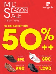 MID SEASON SALE UP TO 50%