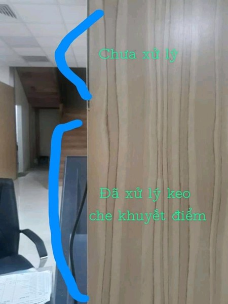 sơn che khuyết điểm trên đồ gỗ nội thất