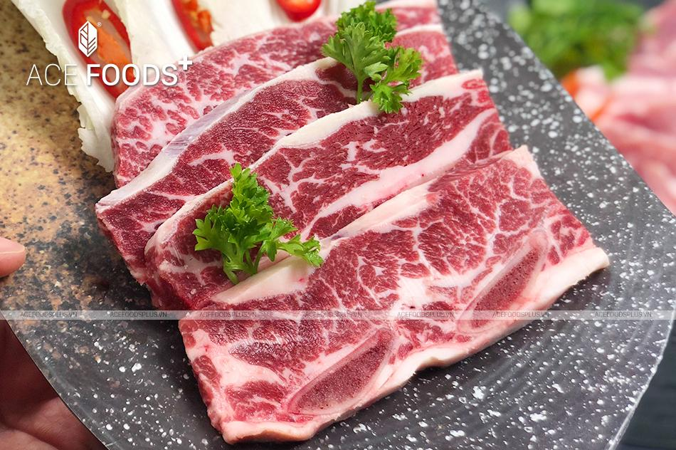 Chọn sườn bò Mỹ có xương có món xào chua ngọt hấp dẫn hơn