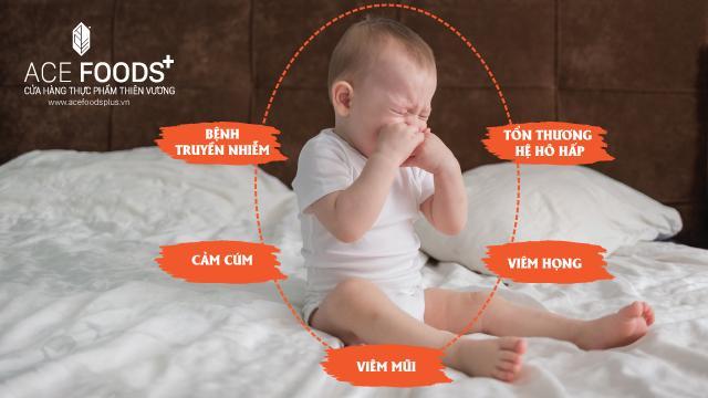 Những bệnh dễ mắc khi sức để kháng trẻ kém