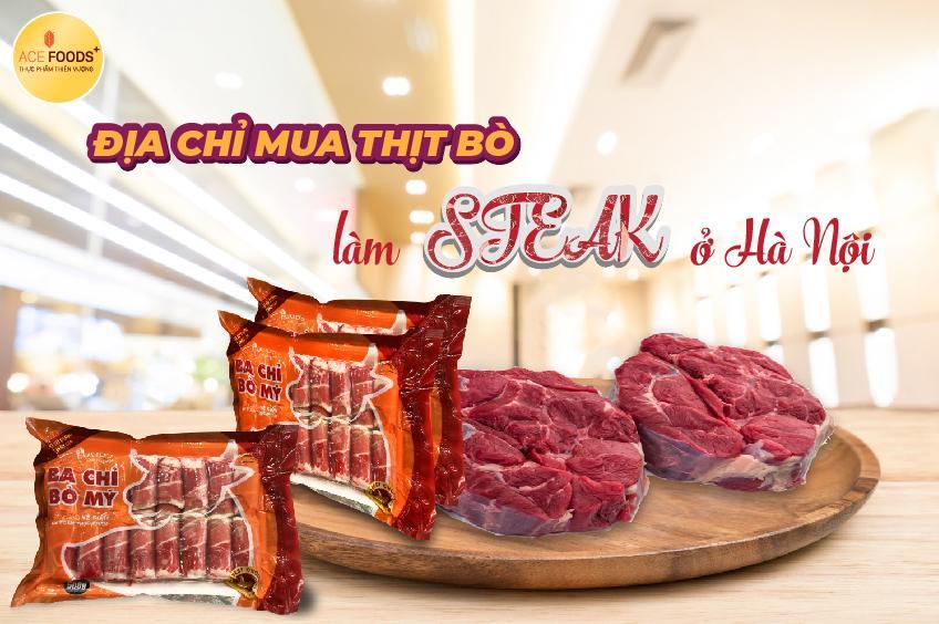 ACE FOODS+ tự hào là đơn vị chuyên phân phối và nhập khẩu thịt bò Mỹ giá tốt nhất thị trường