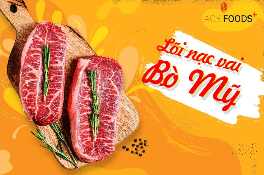 Lõi nạc vai bò Mỹ nướng BBQ