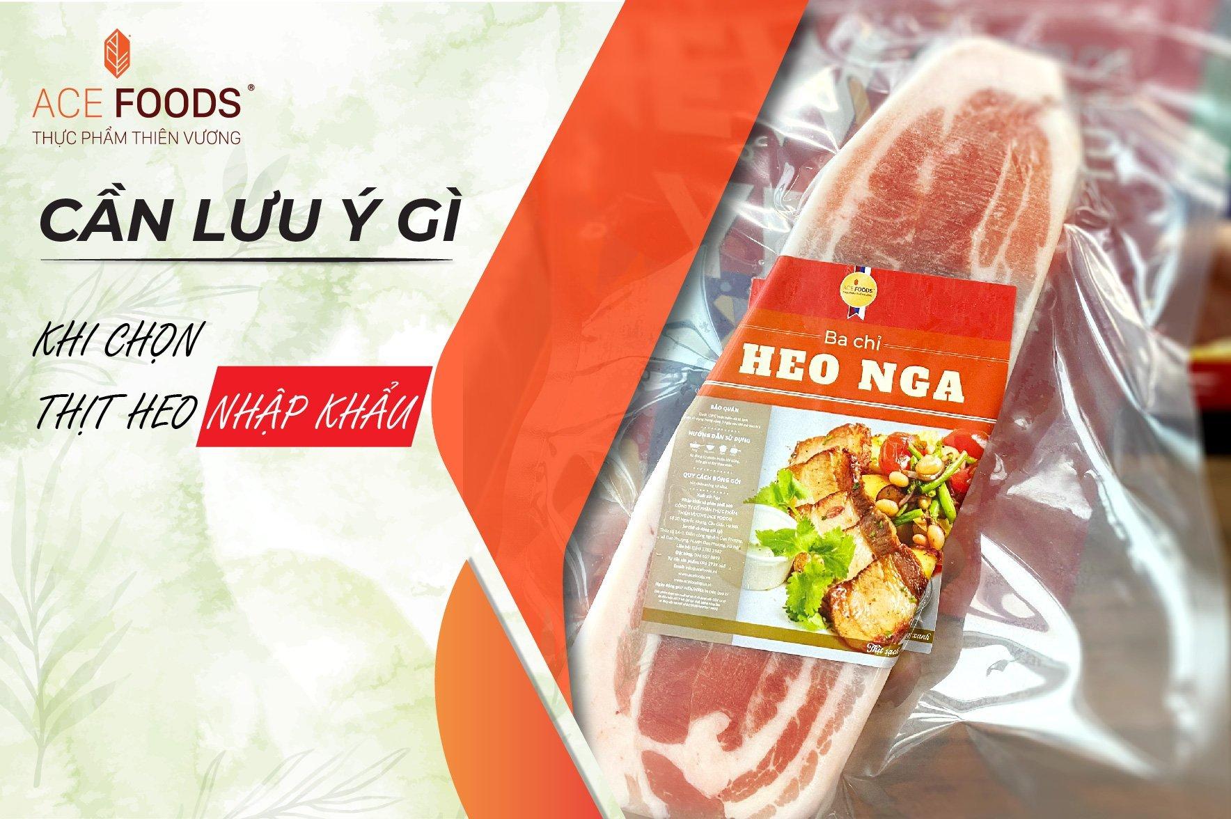 Thịt heo nhập khẩu an toàn phải có độ đàn hồi tốt, thịt săn chắc, có độ dính, mềm