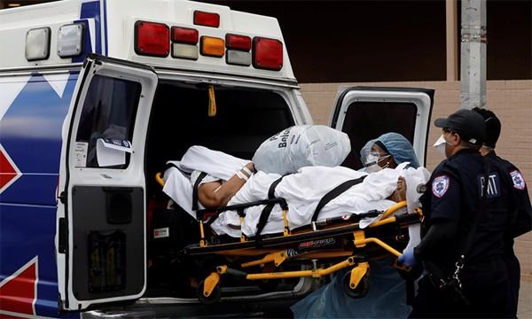 Hơn 1.200 người chết một ngày do nCoV ở Mỹ