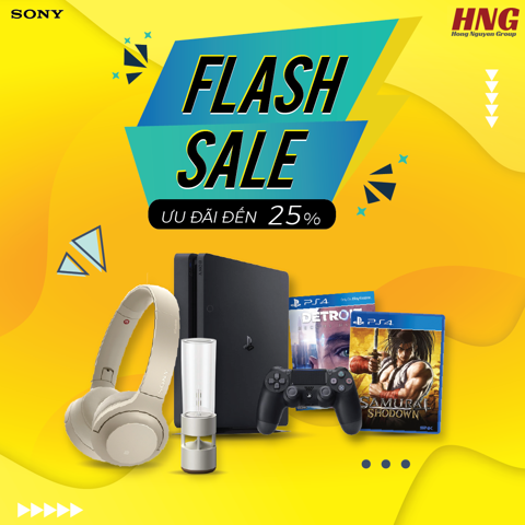 FLash Sale lến đến 25%