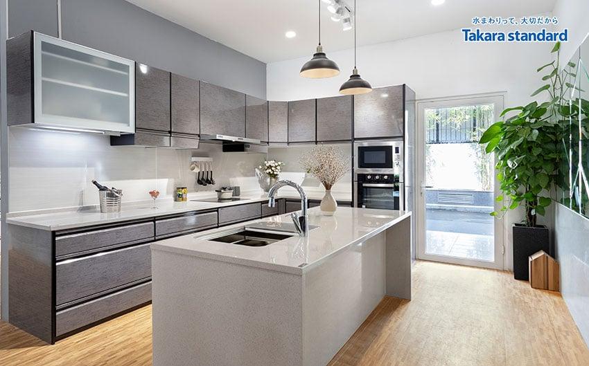 tủ bếp takara standard giá bao nhiêu
