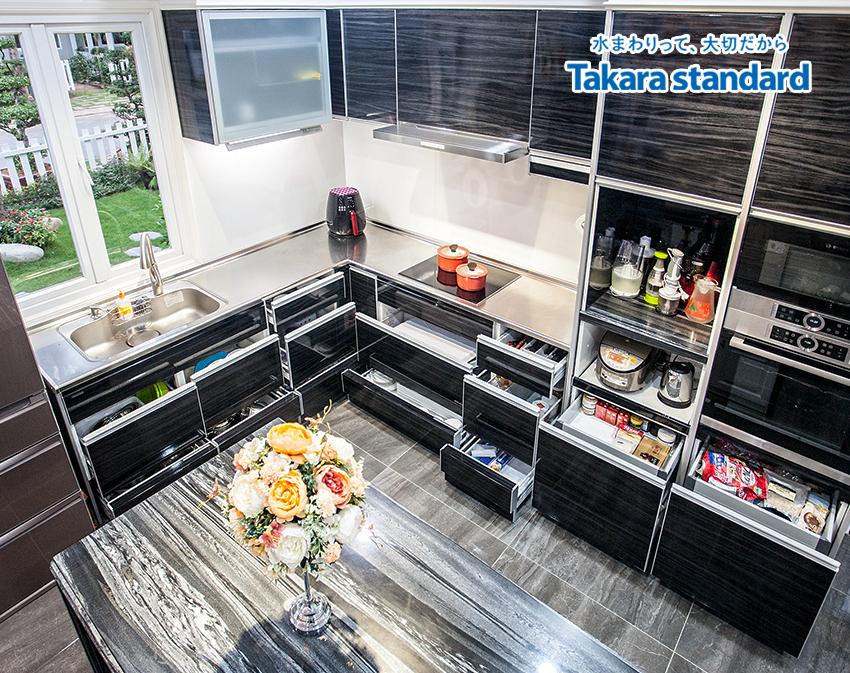 tủ bếp Takara standard