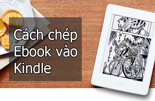 Huong dan chep ebook kindle