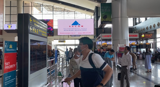 LED ADS AT AIRPORT TO BRANDING AWARENESS