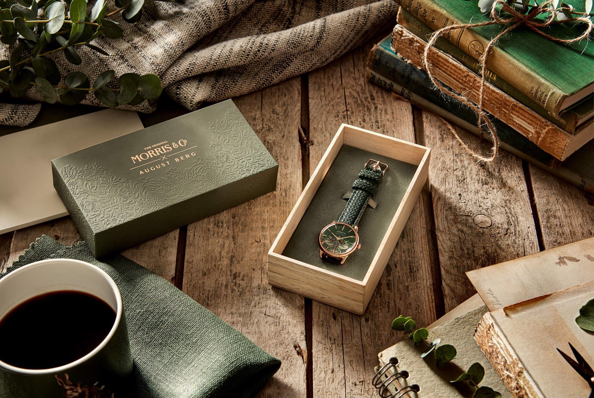 MORRIS & CO. X AUGUST BERG COLLECTION