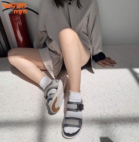 giày sandal cho nữ chân to