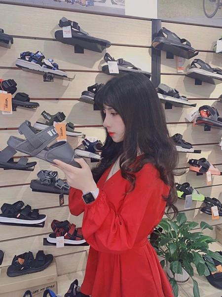 giày dán nữ