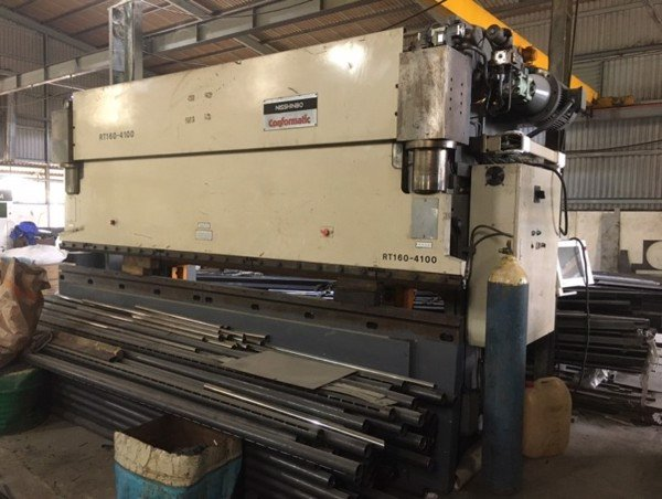 PRESS BRAKE NISSHINBO RT160-4100