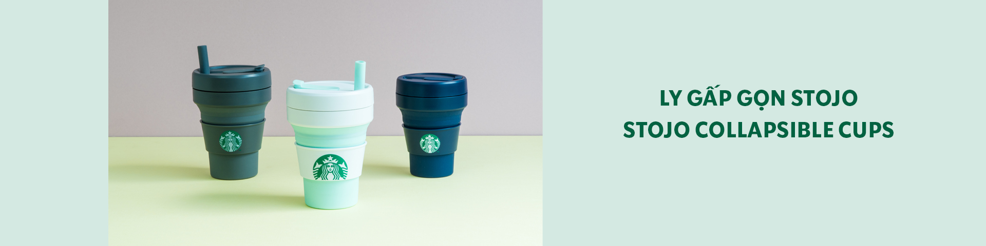 Stojo Collapsible Cups