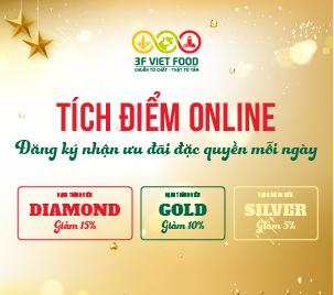 Khám phá ưu đãi đặc quyền khách hàng thân thiết 3F Viet Food
