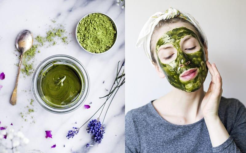 Những cách đắp mặt nạ bằng bột trà xanh mọi cô gái nên bỏ túi – Behena
