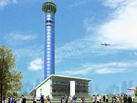 Air Traffic Control Tower – Noi Bai International Airport