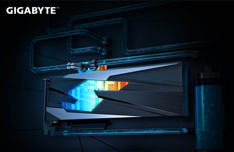 GIGABYTE ra mắt card GeForce RTX™ 3080 GAMING OC WATERFORCE WB 10G