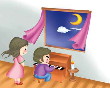 Kể chuyện bé nghe: Bản Sonate ánh trăng