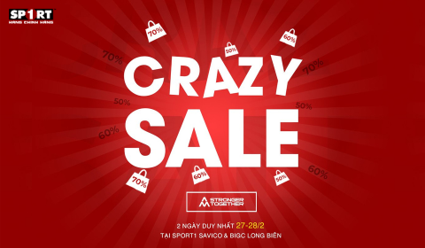 CRAZY SALE - DEAL HOT CUỐI TUẦN