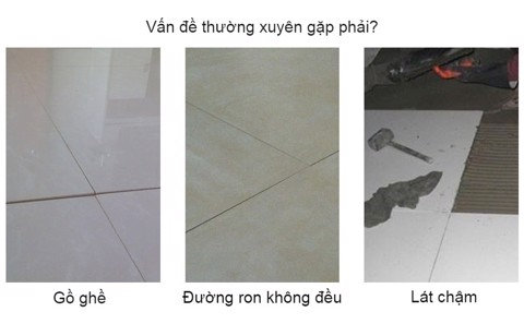 sàn gồ ghề