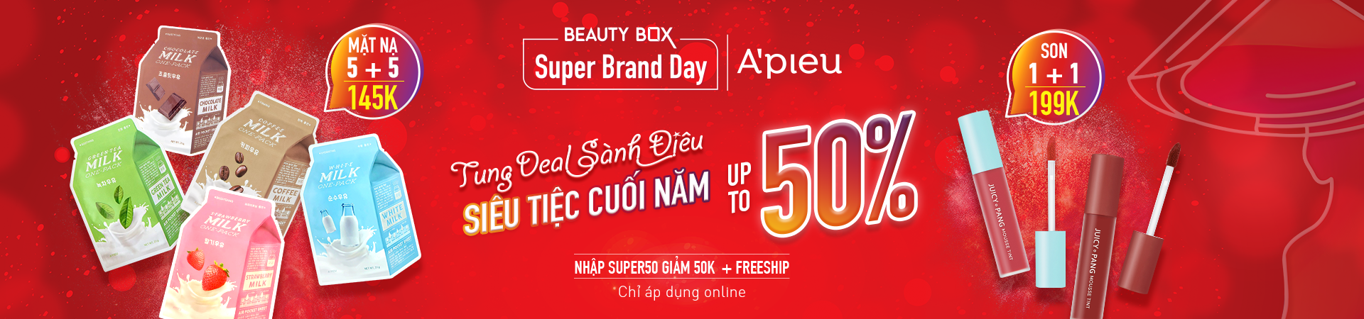 A'PIEU - SUPPER BRAND DAY