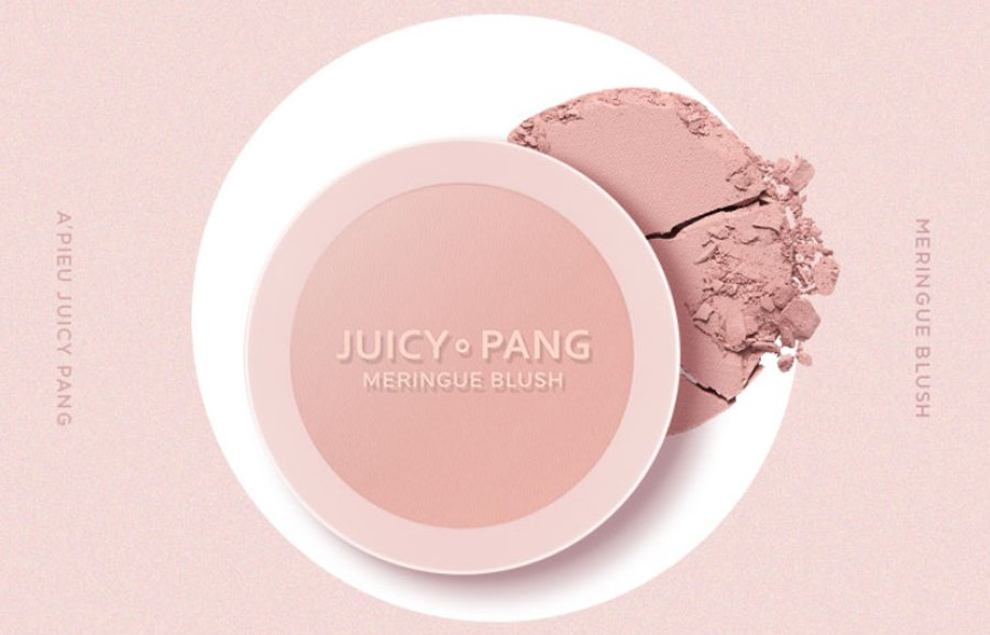 Má Hồng A'PIEU JUICY-PANG MERINGUE BLUSH
