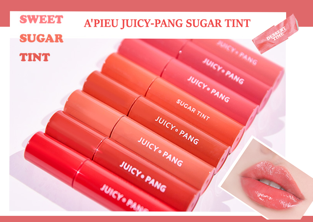 Son Tint A'PIEU JUICY-PANG SUGAR TINT 4.5g