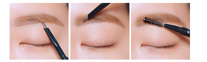 Chì Kẻ Chân Mày CLIO KILL BROW AUTO HARD BROW PENCIL EDGE SLIM 1