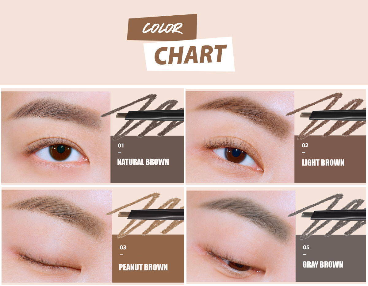 Chì Kẻ Chân Mày CLIO KILL BROW AUTO HARD BROW PENCIL EDGE SLIM