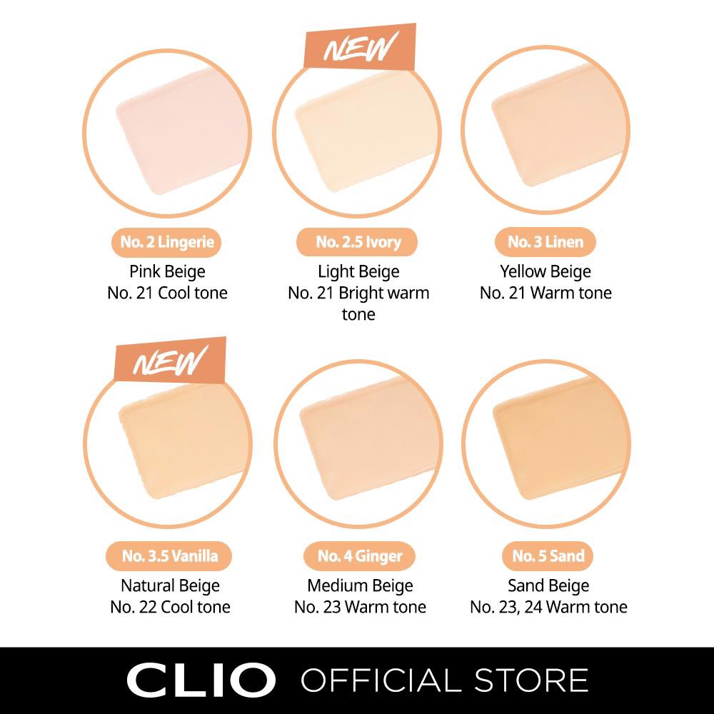 Kem nền Clio Kill Cover Stay Perfect Foundation Beauty Box