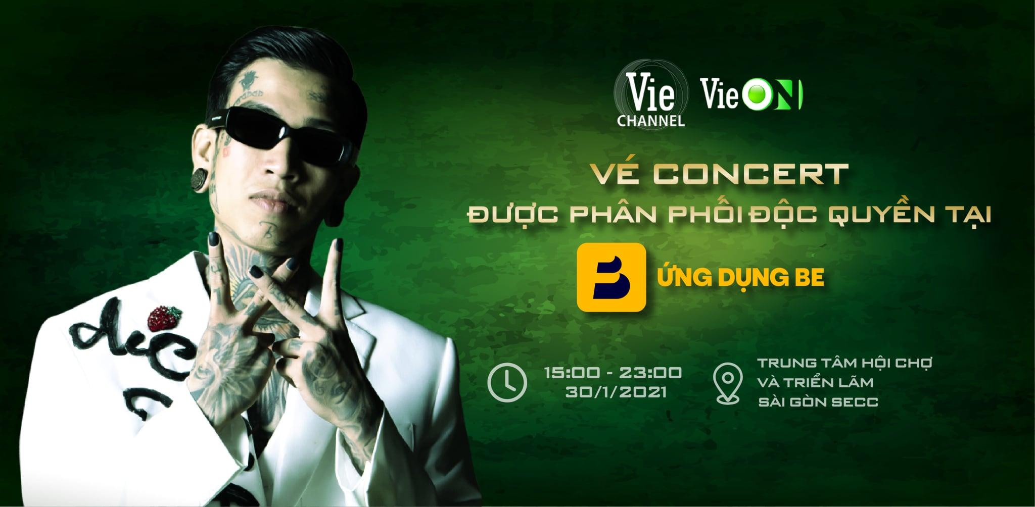 Live Concert Rap Việt 2021 tổ chức ở đâu?