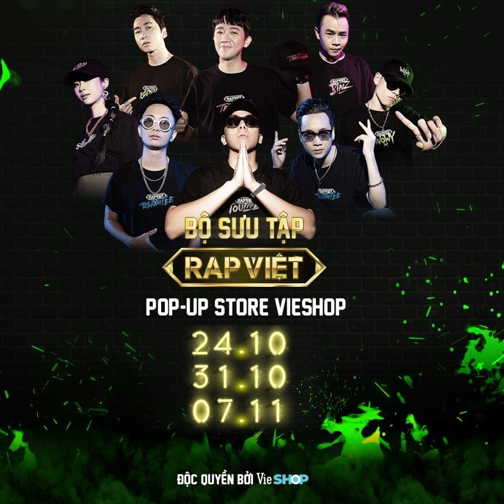 Bộ sưu tập RAP VIỆT chính thức mở POP-UP STORE