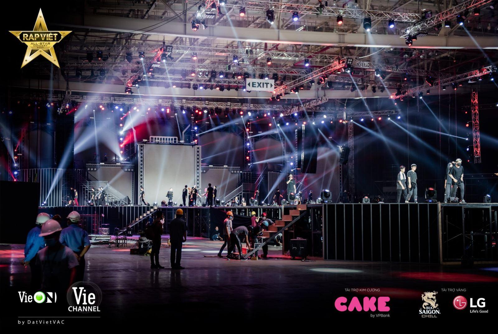 Một số lưu ý tại sự kiện Rap Việt All-Star Live Concert ngày 10/04/2021